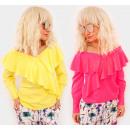 Großhandel Hemden & Blusen: EM91 Damenbluse, spanisch, V-Ausschnitt, ...