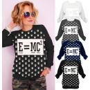 wholesale Pullover & Sweatshirts: N041 Cotton Women Sweatshirt, Energy Coffe