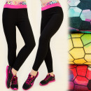 4045 Leggings SPORTS, Neons, COMFORT GYM