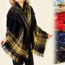 FL260 Ample Sling, PLAID, laine tricotée