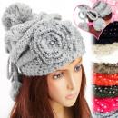 A1215 Frauen-warme Kappe, Anwendungen mit Perlen