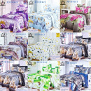 wholesale Home & Living: Bedding Set, 160x200, 3 Parts, mix Z085