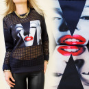 BB63 EXCLUSIVE BLOUSE, PHOTO PRINT, MARYLIN MIX