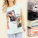 K123 COTTON TOP,  BLOUSE, MYSTERIOUS DOGS