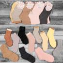 4313 Warm Women Socks, terry, fur