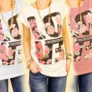 3792 blouse, TOP  PRINT WARE LIEFDE ZAL MIX KOMEN