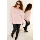 PL9 Fashionable Sweater Spain, Oversize, Powder Pi