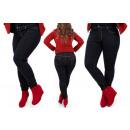 wholesale Jeanswear: B16787 Classic Women's Plus Size Jeans, Dark