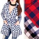 Großhandel Hemden & Blusen: BI653 Light Shirt, Tunika, Gitter, Mega-Taschen