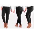 A19110 Femme Jeans Pantalons, Plus Size up 58