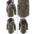 wholesale Coats & Jackets: E17 Winter Women Jacket, Pendants, Khaki