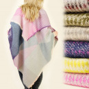 wholesale Pullover & Sweatshirts: FL333 BEAUTIFUL  Sling, PLED, bedspread, PONCHO