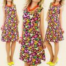ingrosso Ingrosso Abbigliamento & Accessori: Le farfalle  colorate K100 abito estivo