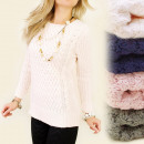 A848 Sweater Pull pour femmes, tissage chez Romby