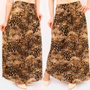 wholesale Skirts: C17696 Women Maxi Skirt, Animal Print