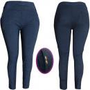 Großhandel Hosen: 4478 Plus Size Damenhose, Blumendesign