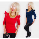 wholesale Fashion & Apparel: BB152 Impressive  Blouse, Shoulder Pads, Gaga Style
