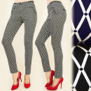 Großhandel Hosen: BI463 Elegante Hosen, Tube, Modische Diamanten