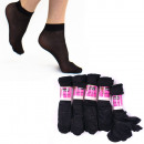 Dünne Socken Mit ABS, Kniestrümpfe, Schwarz 35-42