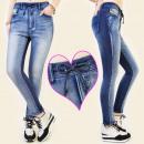 wholesale Jeanswear: B16446 casual  jeans, TRGGINS, DOUBLE COLOR