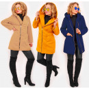 C24249 Women Jacket with Hood, Colorfull Coat