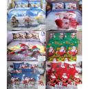 nagyker Ágyneműk és matracok: Karácsonyi ágynemű szett, 160x200, 3 db, Z125