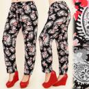 C17149 Comfortable  Pants, Linea libera, cotone, gr