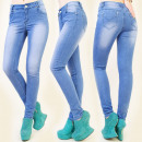 wholesale Jeanswear: B16461 CHARMING  PANTS JEANS, TUBE, BEAUTIFUL COLOR