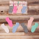 Großhandel Strümpfe & Socken: 4556 Pastell Damen Socken, Füße, Fitness 35-42