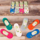 Großhandel Strümpfe & Socken: 4561 Bambussocken, Füße, Bienenmuster, 36-41