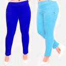 Großhandel Hosen: C17647 Bunte Damenhose, Übergröße