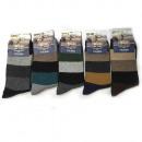 Men's Socks, Thermo, Angora, Belts 39-46, 5787