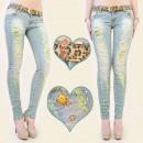 ,B16473-Hosen-Jeans löcher, Zirkon, jets
