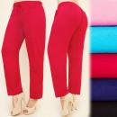 C17148 Pantalones  cómodos, línea libre, algodón, g