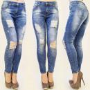 ingrosso Jeans: B16381 vapore  JEANS, FORI super trendy, mescolare