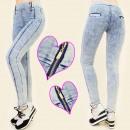 wholesale Trousers: 4067 GRAY  TROUSERS, JEANS  LEGGINS, VERTICAL ...