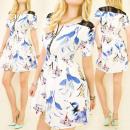 groothandel Kinder- en babykleding: C17123 lichtgewicht jurk, subtiel patroon, ...