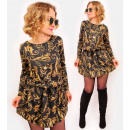 A1015 Fashionable Dres Dress, Vintage HIT STYLE!