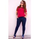 Großhandel Hosen: A1999 Frauen Stretchy Hosen, Plus Größe bis 58