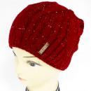 Großhandel Kopfbedeckung: CZ07 Warme Damenmütze, Sport, mit Fleece