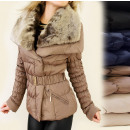 BB72 WINTER  JACKET, fur, BEAUTIFUL COLLAR MIX