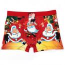 Men's Christmas Boxer Shorts, coton L- ...
