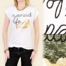 ingrosso Ingrosso Abbigliamento & Accessori: K346 COTONE  CAMICIA, TOP GOLDEN MERMEID