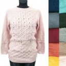 wholesale Pullover & Sweatshirts: Classic Loose Sweater For Women, Pearls, R123