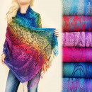 wholesale Store & Warehouse Equipment: FL612 Scarf,  Shawl, Strong, Shaded Colors