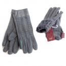 wholesale Gloves: Woolen Gloves for Women, Color Gray SL, 5812