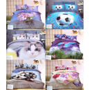 wholesale Home & Living: Bedding set 200x220, 3 parts, mix Z129