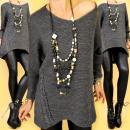 ingrosso Ingrosso Abbigliamento & Accessori: G209 Slimming  tunica, maglione, collo av