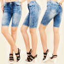 Großhandel Shorts: B16555 Kurze Jeans Hosen, Damen Shorts