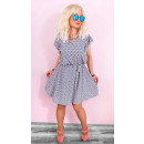 BI735 Lovely,  Loose Spring Dress, Classic Cut